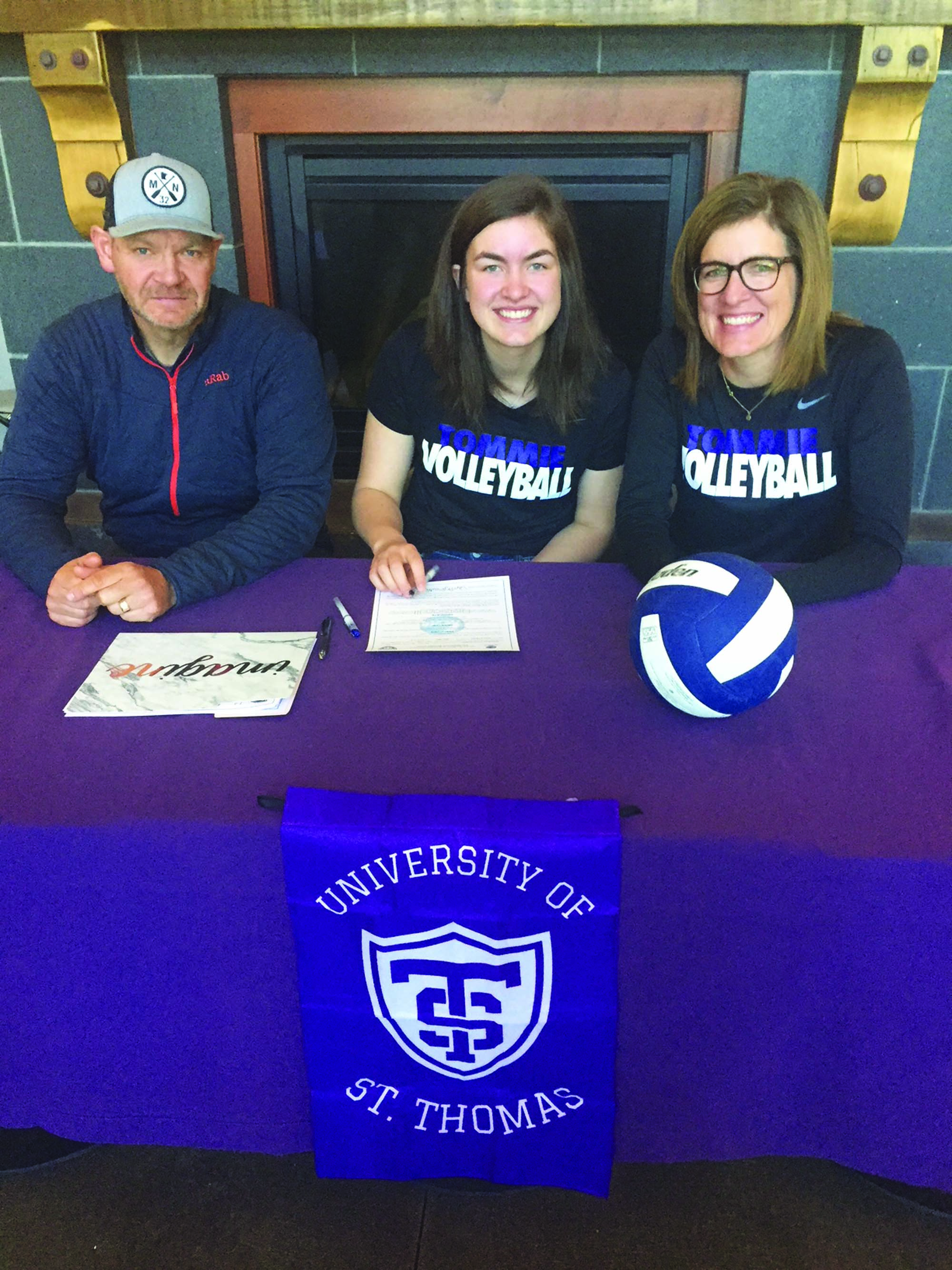 Mastel signs to Tommie volleyball   Carbon County News